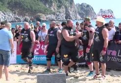 Dünyanın en güçlü sporcuları Alanyada yarışıyor