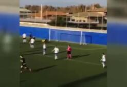 Kaleciyi çaresiz bırakan gol