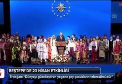 Erdoğan, Beştepe 23 Nisan etkinliğinde konuştu