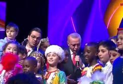 Cumhurbaşkanı Erdoğan paylaştı: İşte 23 Nisan düeti