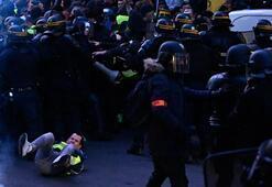 Polis saldırılara orantılı şekilde yanıt veriyor