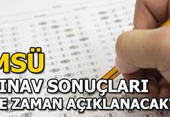 Milli Savunma Üniversitesi (MSÜ) sınav sonuçları ne zaman açıklanacak Geri sayım başladı