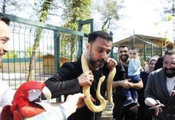 Alişanın yılanla imtihanı