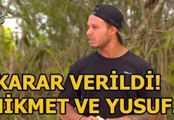 Survivorda Yusuf ve Hikmete diskalifiye şoku Survivor 55. bölümde ödül oyunu...