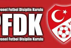 PFDKdan 4 Süper Lig kulübüne ceza