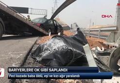 Aileyi parçalayan kaza
