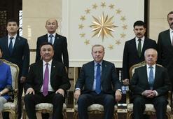 Kırgızistanın Ankara Büyükelçisi Cumhurbaşkanı Erdoğana güven mektubu sundu