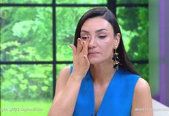 Sevcan Orhan, gözyaşlarına boğuldu