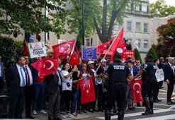 Washingtonda yaşayan Türklerden Ermeni iddialarına karşı protesto