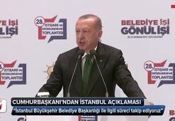 Cumhurbaşkanı Erdoğan: Süreci takip ediyoruz