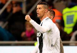 Inter ve Juventus yenişemedi Ronaldo 600. golünü attı...