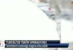 Tuncelide terör operasyonu