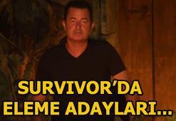 Survivorda eleme adayları kimler oldu Dokunulmazlığı kazanan takım...