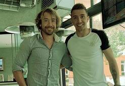 Diego Lugano ve Fernando Muslera buluştu