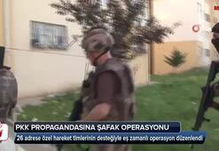 Adanada PKK propagandasına şafak operasyonu: 24 gözaltı