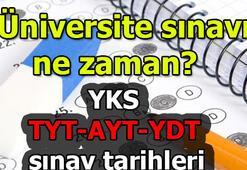 Üniversite sınavı ne zaman 2019 YKS (TYT-AYT-YDT) sınav tarihleri