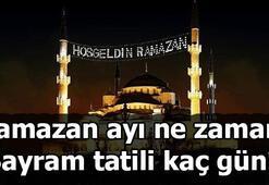 Ramazan ayı hangi gün başlıyor 2019 Ramazan Bayramı ne zaman