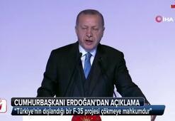 Cumhurbaşkanı Erdoğandan S-400 ve F-35 açıklaması