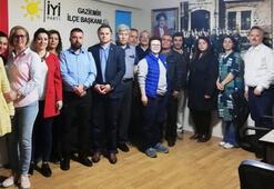 İYİ Parti Gaziemir İlçe Başkanı ve yönetimi istifa etti
