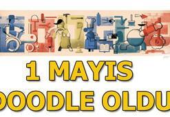 1 Mayıs İşçi Bayramı Doodle oldu Googledan 1 Mayıs sürprizi...