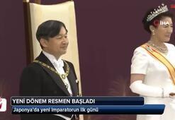 Japonya'da yeni imparatorun ilk günü