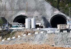 Tamamlandığında Avrupanın en uzun kara yolu tüneli olacak