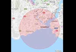 İstanbulda 1 Mayıs için havadan da önlemler alındı