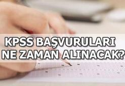 KPSS başvuruları hangi tarihte başlıyor 2019 KPSS sınav tarihleri