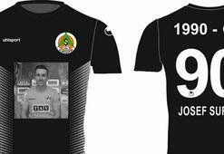 Alanyaspor, Josef Surallı tişört hazırlattı
