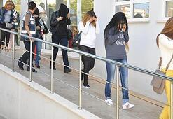 Trabzonda fuhuş operasyonu: 15 gözaltı
