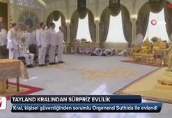 Tayland kralından sürpriz evlilik