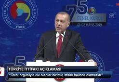 Cumhurbaşkanı Erdoğandan Türkiye İttifakı açıklaması