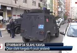 Diyarbakırda silahlı kavga