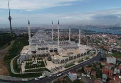 Büyük Çamlıca Camisinin resmi açılışı bugün yapılacak