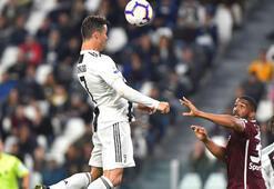 Şampiyon Juventus 1 puanı Ronaldoyla aldı