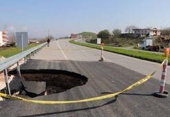 7 Nisandan sonra bir kez daha oluştu 4 metre genişliğinde...