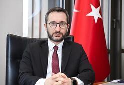 Cumhurbaşkanlığı İletişim Başkanı Prof. Dr. Fahrettin Altundan şehitler için başsağlığı mesajı