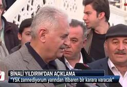 Binali Yıldırımdan İstanbul açıklaması
