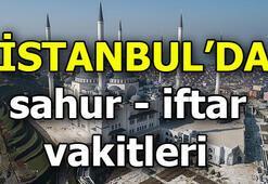 İstanbul sahur saat kaçta yapılacak İstanbulda bugün iftar vakti...