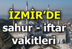 İzmirde sahur saat kaçta | İzmirde iftar vatki ne zaman