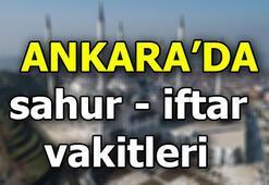 Ankarada sahur saat kaçta | Ankarada iftar vatki ne zaman