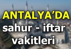 Antalyada imsak vakti   Antalyada iftar ne zaman