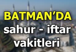 Batman namaz vakitleri Batmanda sahur ve iftar saati