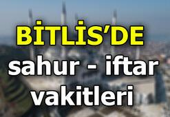Bitlisde ilk iftar saat kaçta Bitlis imsak vakti