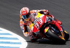 İspanyada kazanan Marquez