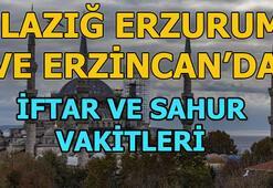 Elazığ, Erzincan ve Erzurumda iftar saat kaçta 2019 Ramazan imsakiyesi