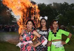 Bin 400 yıllık 'Kakava ateşi yandı