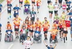 Omurilik felçlileri için 9 bin kişi koştu