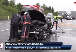 Anadolu Otoyolunda dehşet