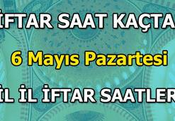 İftar saat kaçta yapılacak 6 Mayıs iftar vakti 6 Mayıs il il iftar vakitleri
